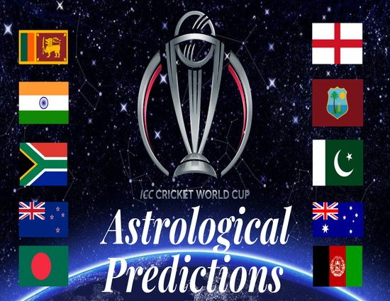World Cup Cricket 2019 Astro Predictions by Dr  Anita Nigam